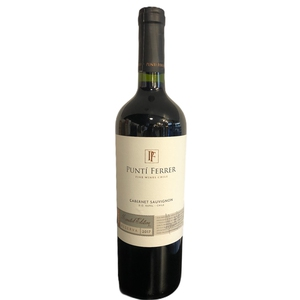 Vino Punti Ferrer Cab Sauv Lim Edit Res 750Ml