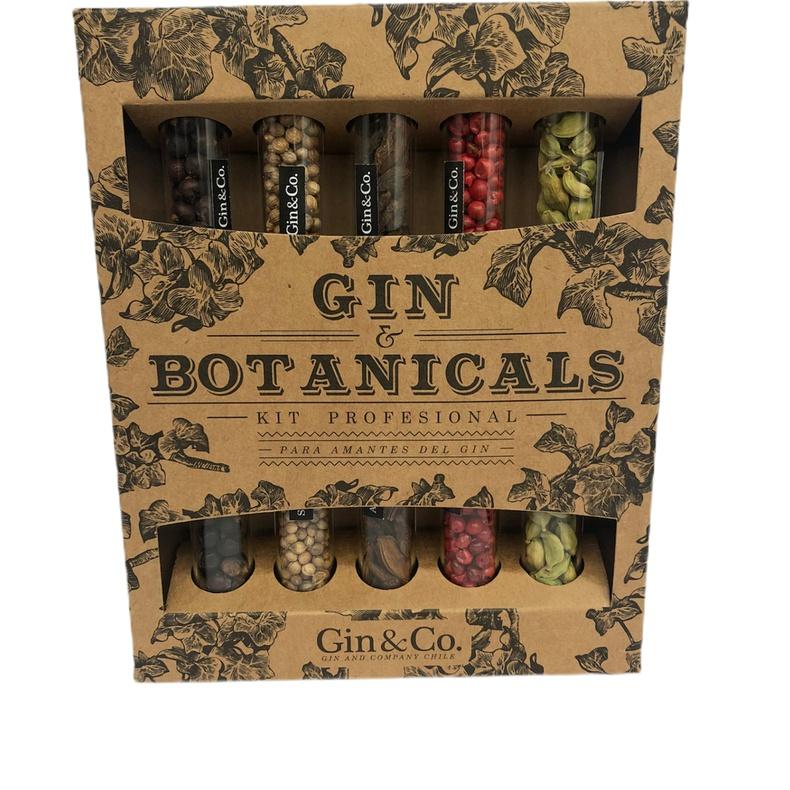Gin Botanicals Caja Especies (cherry Chile)