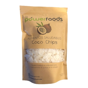 Coco Chips 300 Gr (Powerfoods)