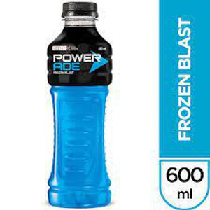 Powerade Zero - Frozen blast 600cc