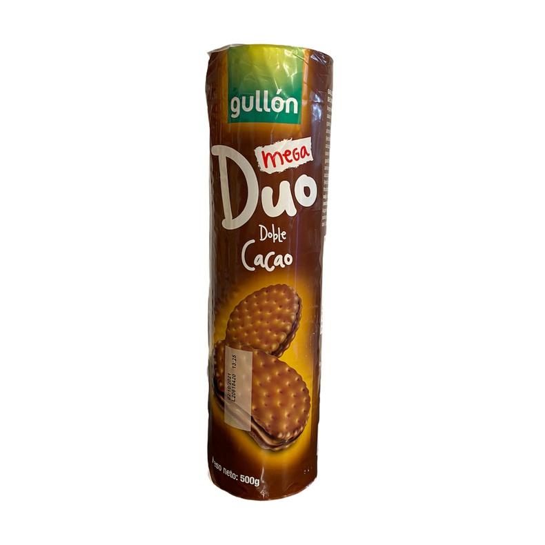 Galleta Mega Duo Doble Cacao Gullon 500gr (gullon)