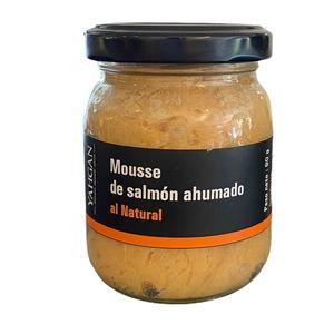 Mousse Salmon Ahumado Al natural 90 Gr (Yahgan)