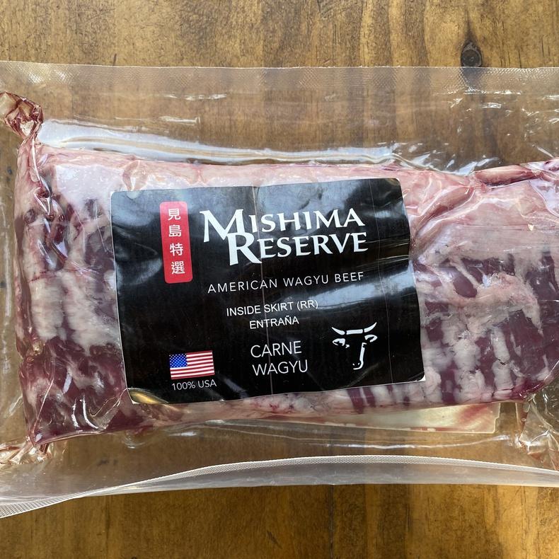Entraña Wagyu (Mishima Reserve) (Corte de 1,00 kg)