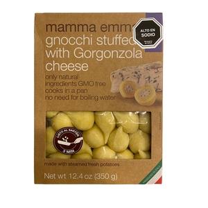 Gnocchi con papa y Gorgozola (Mamma Emma)