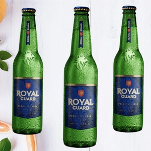 Cerveza Royal Guard Bot. 355cc
