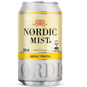 Nordic Mist Lata Agua Tonica 350ml