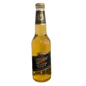 Cerveza Miller Genuine Draft Bot 355Ml