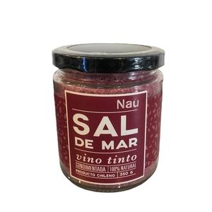 Sal de mar vino tinto 350 GR (NAU)