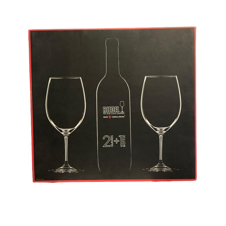 Riedel Vinun Set 2 Copas para botella Bordeaux