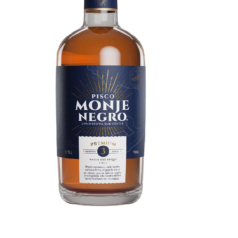 Pisco Monje Negro Premium 3 años  40° 700cc