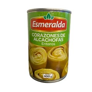 Corazones de Alcachofas enteros Esmeralda 400g