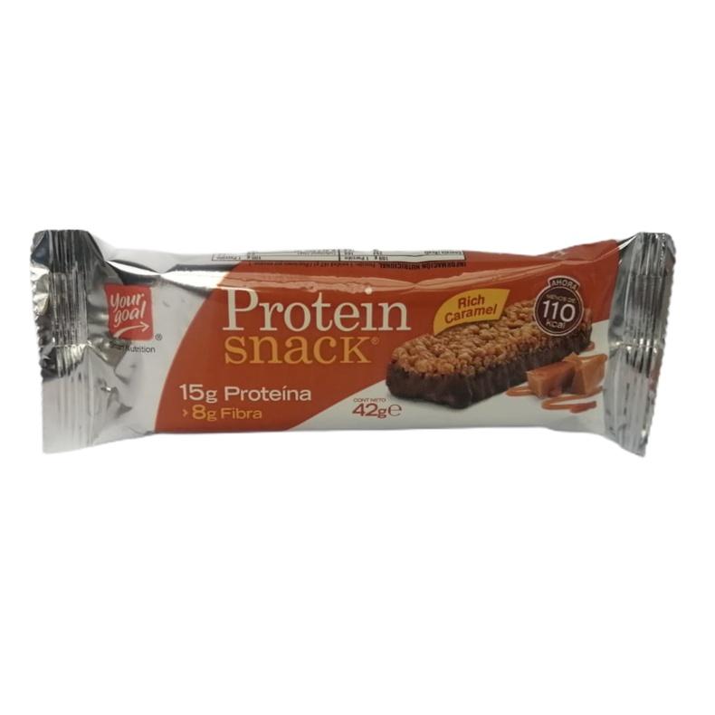 Protein Snack Rich Caramel 15Gr (nutracom)