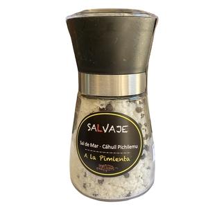 Sal en Molinillo a la pimienta 150gr (salvaje)