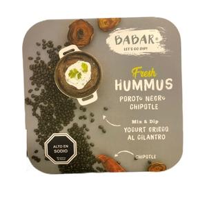 Babar Hummus Poroto Chipotle 290gr