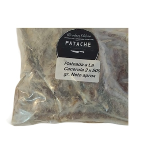 Plateada a la Cacerola en trozos 1 kilo (PATACHE)