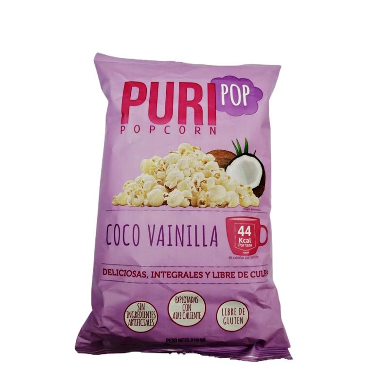 Puri Pop Corn Coco Vainilla 250 Grs