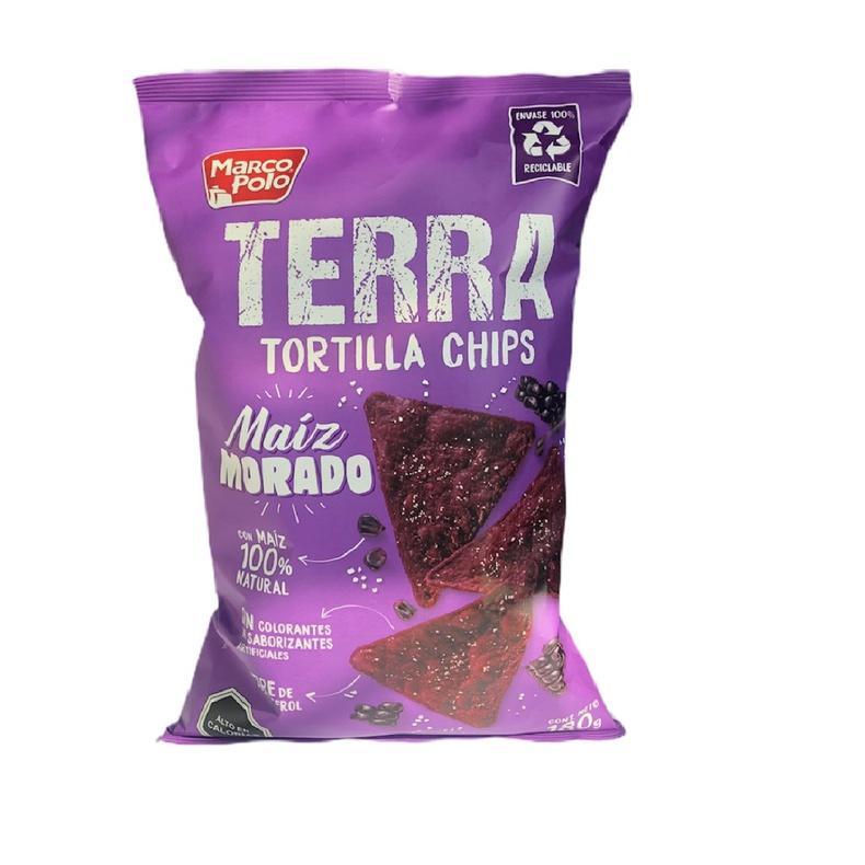 Tortilla chips Terra Maiz Morado 180g (MARCO POLO)