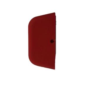 Mango Goma Cuadrado Rojo  (Lodge)