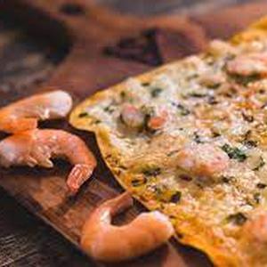 Pizza Gamberi  (Sant Ambrogio)