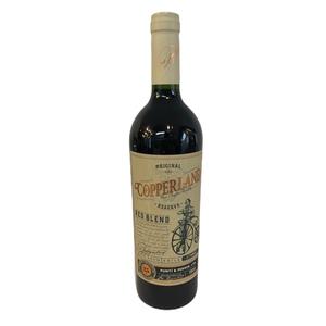 Vino Copperland Red Blen 750 cc