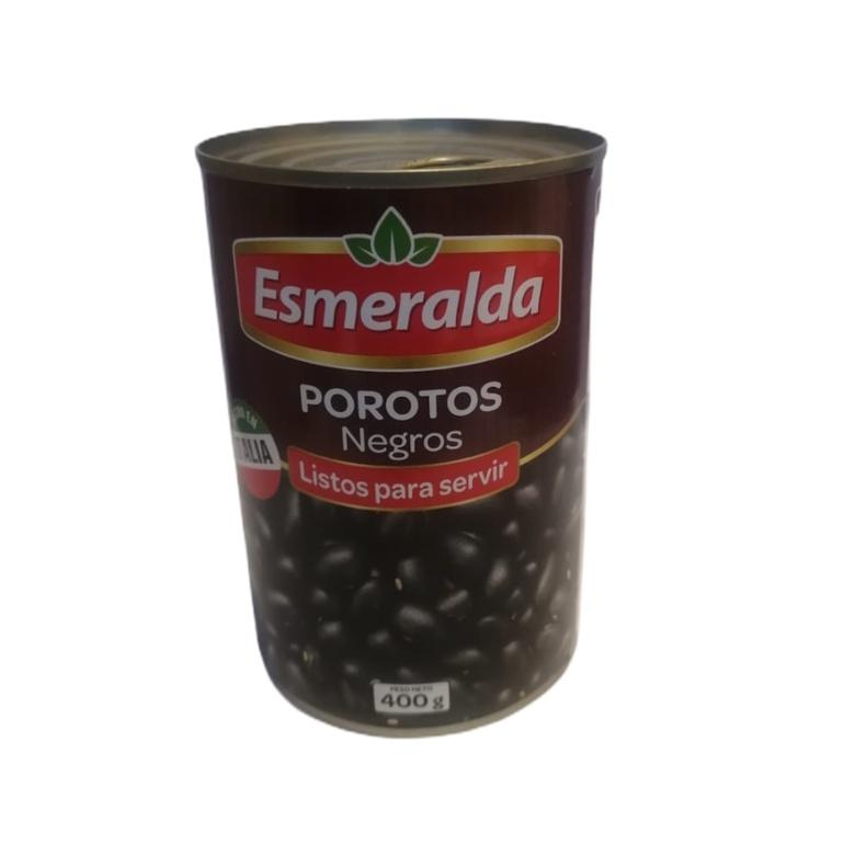 Porotos Negros 400 Gr Esmeralda