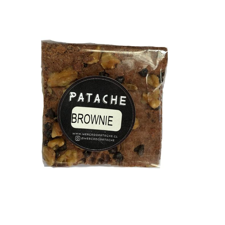 Brownie Individual Chocolate Nuez 95gr (Patache)