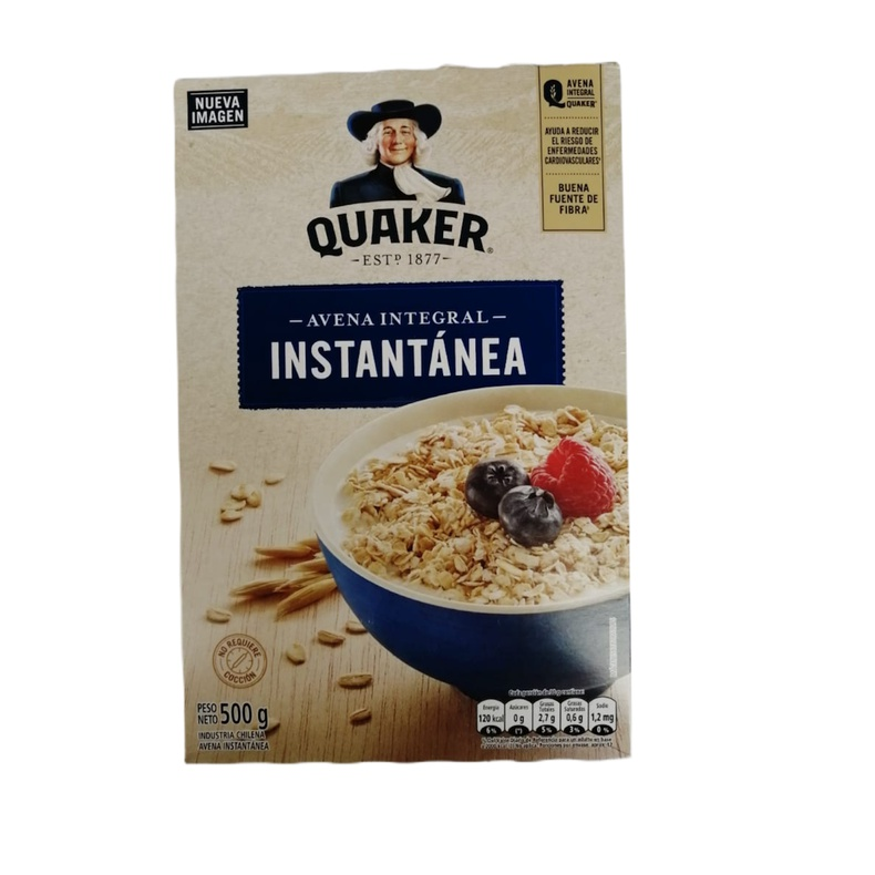 Quaker Avena Integral Instantanea (EVERCRISP)
