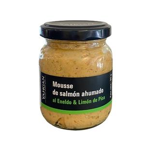 Mousse Salmon Ahum Eneldo Limon Pica 90 Gr (Yahgan