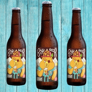 Cerveza Big bear Pale ale Bot. 330 cc