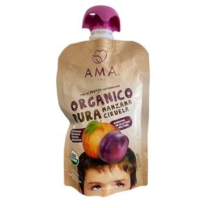 Pure De Fruta Organico Manz/Ciruela (LOGO)