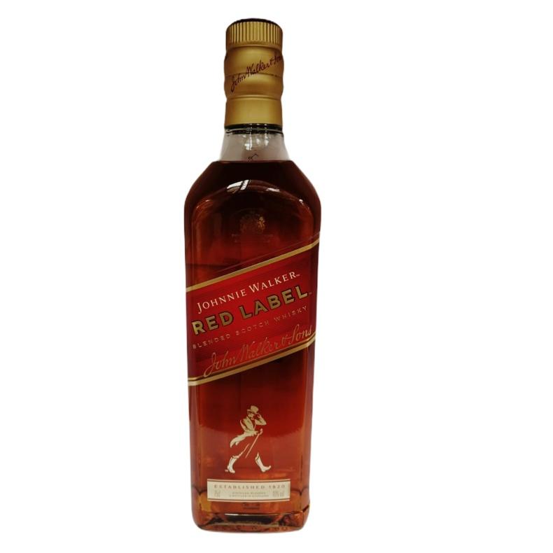 Whisky Johnnie Walker red. 750 cc