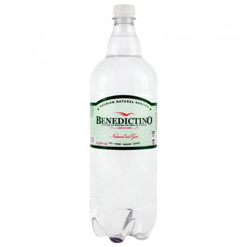 Agua Benedictino 1,5L Sin gas