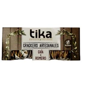 Crackers Chia. 140gr (Tikas )
