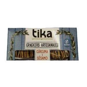 Crackers Curcuma 140gr (Tika)