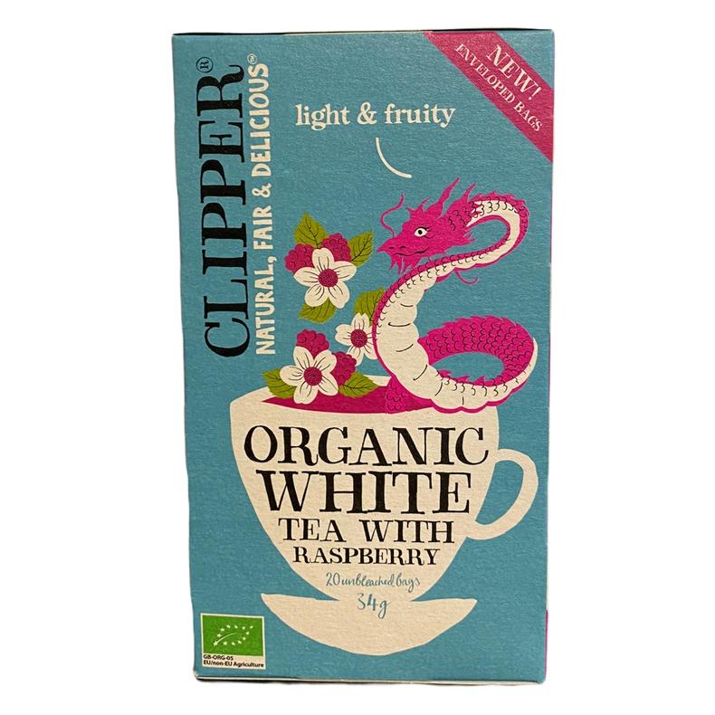 Te Organic Raspberry leaf Infusion 20 bags (LOGO)