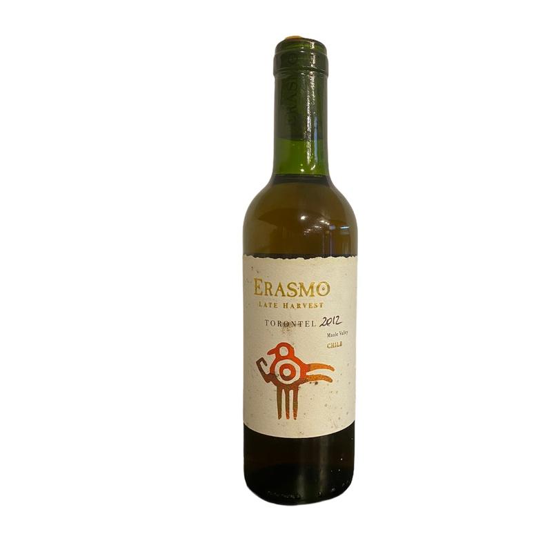 Vino Erasmo Torontel Late Harvest 2012 375ml