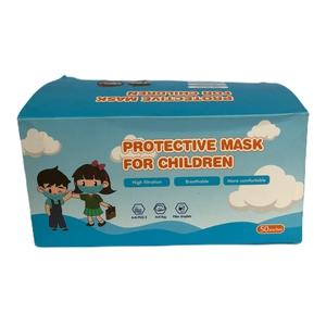 Pack 50 mascarillas 3 cap infantil