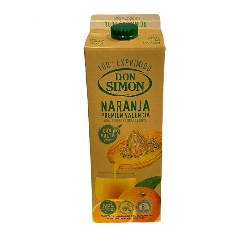 Jugo Naranja Don Simon 100% 2 lts (velarde)