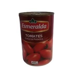 Tomates Enteros Pelados 400 Gr Esmeralda