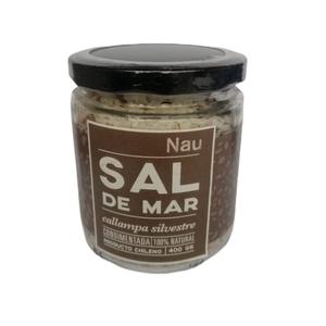 Sal de mar Callampa 400 gr (nau)