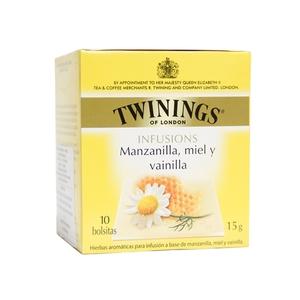 Te Twininngs Sabor Manzanilla, miel y vainilla Tea 12x10 (Engels)