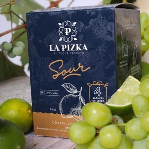 La Pizka Pisco Sour caja Sachets congelado Limón Sutil