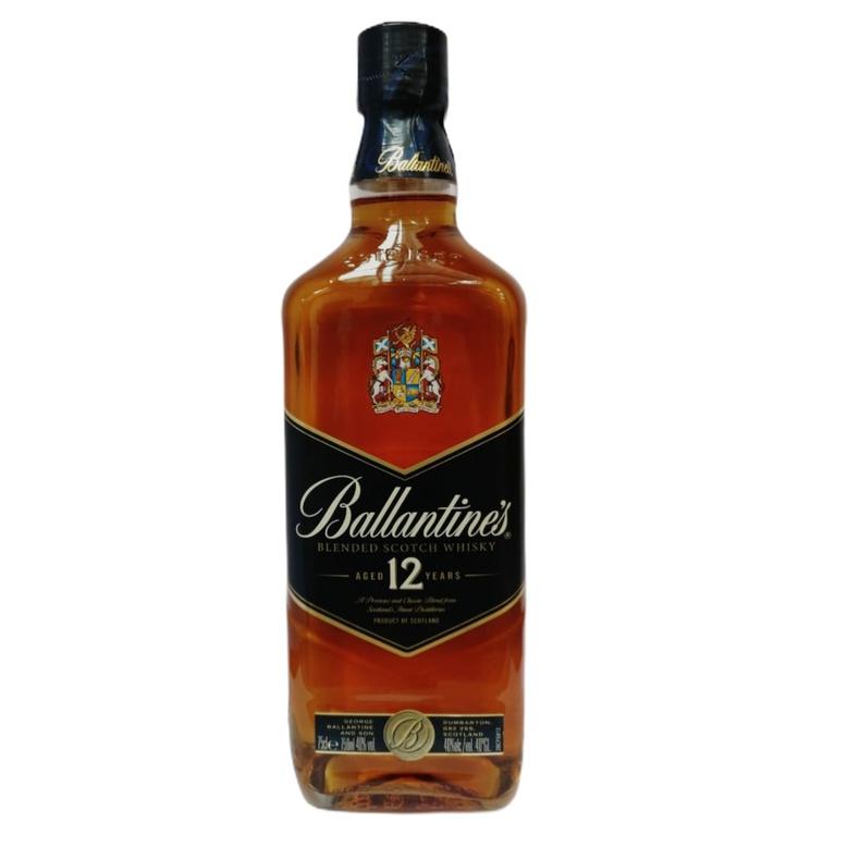 Whisky Ballantines 12 años (Portugal)