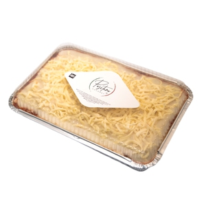 Lasaña Bolognesa y queso  (Positano)