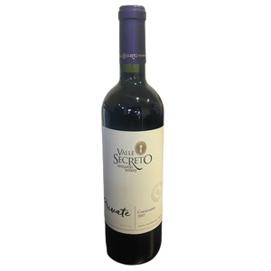 Vino Carmenere Private Valle Sec 750 cc