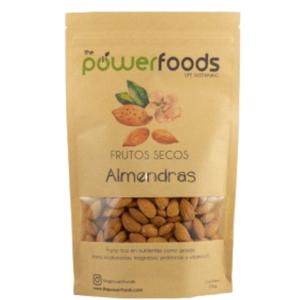 Almendras 500 Gr (Powerfoods)