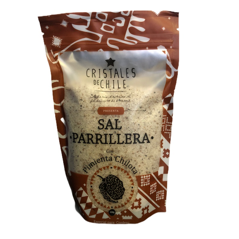 Sal Parrillera Pimienta Chilota (Cristales De Chile)