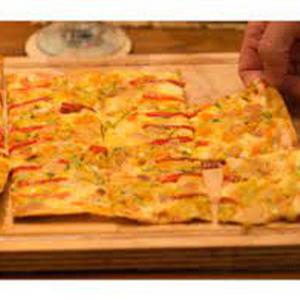 Pizza Verdu Wok  (Sant Ambrogio)