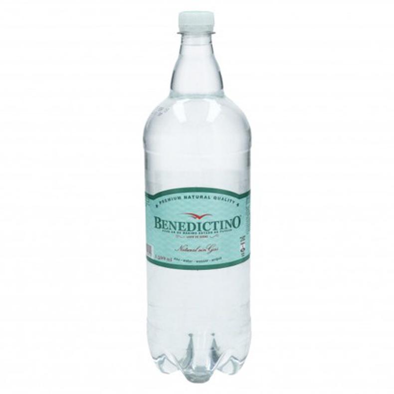 Agua Benedictino 1,5L Con gas