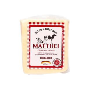 Queso Mantecoso Matthei Trozado 250 gr (Rodenberg)
